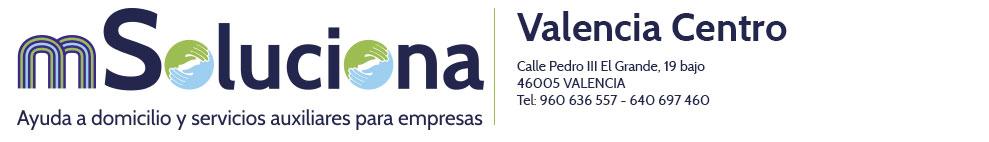 Msoluciona Valencia Centro Logo